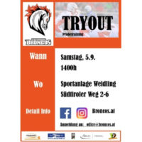 Tryout September 2020